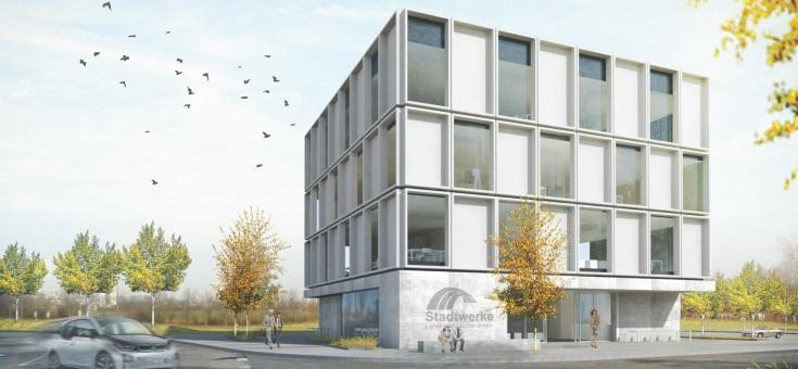 Stadtwerke Leinfelden-Echterdingen | Neubau Verwaltungsgebäude