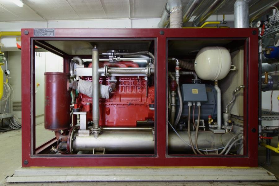 Blockheizkraftwerkmodul