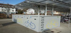 Fahrradboxen Bahnhof Leinfelden